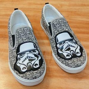 Gap Star Wars Storm Trooper Slip on Sneakers vans